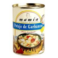 POTAJE DE GARBANZOS MAMÍA