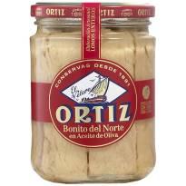 "WHITE TUNA IN OLIVE OIL ""ORTIZ"""