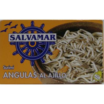 "SURIMI ELVER WITH GARLIC ""SALVAMAR"""