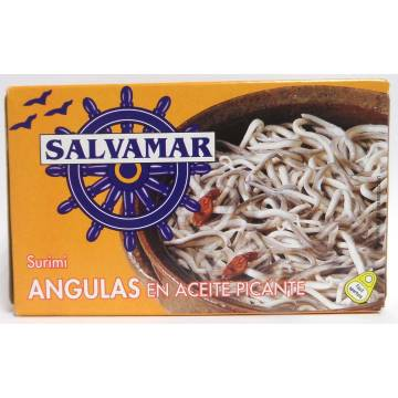 "SURIMI ELVER IN SPICY OIL ""SALVAMAR"""