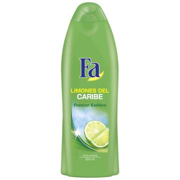 "SHOWER GEL CARIBBEAN LEMONS ""FA"""