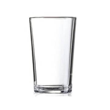 WHITE COFFEE GLASS