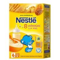"""""""8 cereales con miel"""" Nestle"""