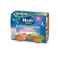 """Buenas Noches """"Hero"""" Guisantes tiernos con jamón cocido extra"""