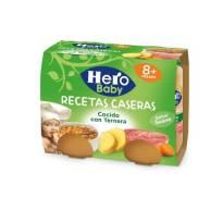 """COCIDO CON TERNERA """"R. CASERAS"""" HERO BABY"""