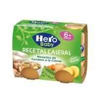 """MENESTRA DE CORDERO A LA CREMA """"R. CASERAS"""" HERO BABY"""