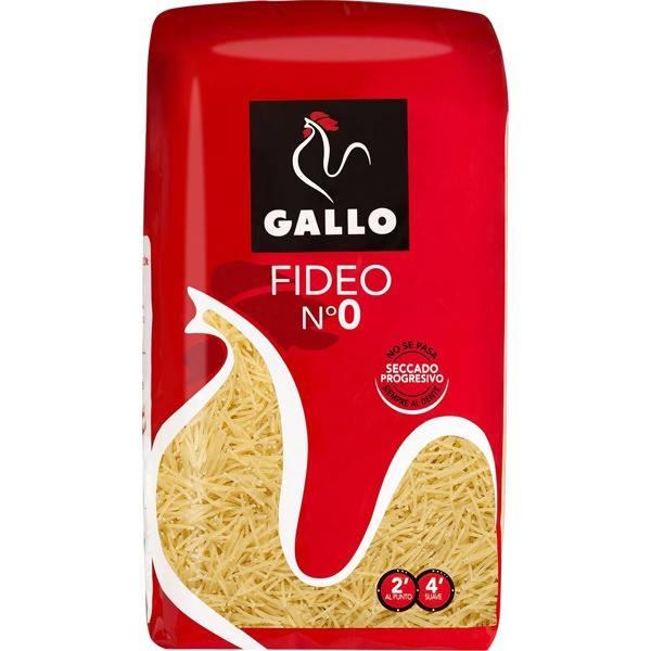 VERMICELLES N-0 500G GALLO