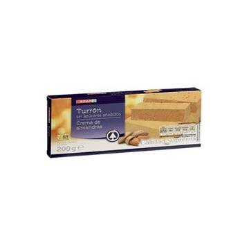 "SOFT ALMOND TURRON WITHOUT SUGAR ""SPAR"" (200 G)"