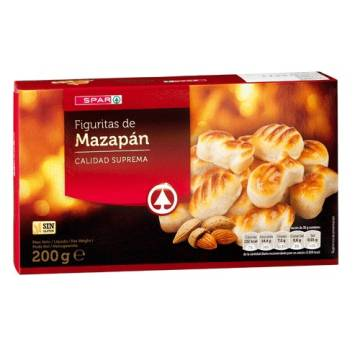 MARZIPAN SHAPES 200G SPAR