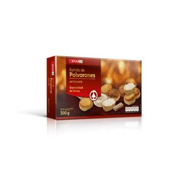 "ASSORTED POLVORONES ""SPAR"" (300 G)"