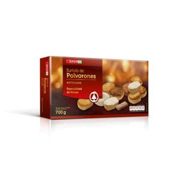"ASSORTED POLVORONES ""SPAR"" (700 G)"
