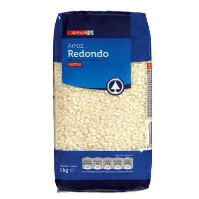 "ROUND GRAIN RICE ""SPAR"""