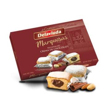 "MARQUESA CAKES FILLED WITH CHOCOLATE CREAM ""DELAVIUDA"" (300 G)"