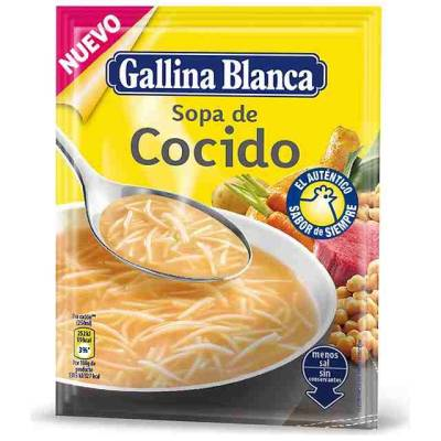 "COOKED SOUP ""GALLINA BLANCA"""