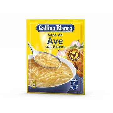 "FOWL SOUP WITH NOODLES ""GALLINA BLANCA"""