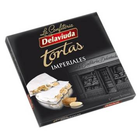 "IMPERIAL ALMOND TURRON -GLUTEN FREE- ""DELAVIUDA"" (200 G)"