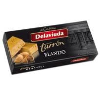 """SOFT ALMOND TURRON -GLUTEN FREE- """"DELAVIUDA"""" (250 G)"""