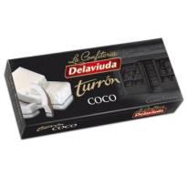 """TURRÓN DE COCO -SIN GLUTEN- """"DELAVIUDA"""" (300 G)"""