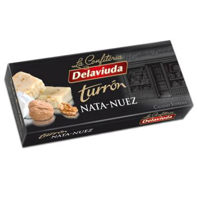 "WALNUT-CREAM TURRON ""DELAVIUDA"" (300 G)"