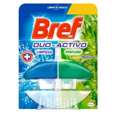 DESINFECTANTE WC DUO ACTIVO VERDE BREF