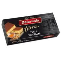 "TURRÓN DE YEMA TOSTADA -SIN GLUTEN- ""DELAVIUDA"" (300 G)"