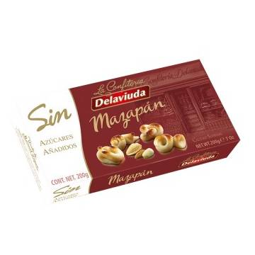 "MARZIPAN WITHOUT SUGAR ""DELAVIUDA"" (200 G)"