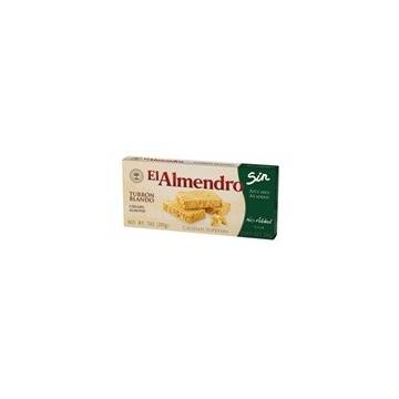 "SOFT ALMOND TURRON WITHOUT SUGAR ""EL ALMENDRO"" (200 G)"