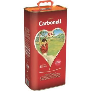 """MILD OLIVE OIL 5L """"CARBONELL"""""""
