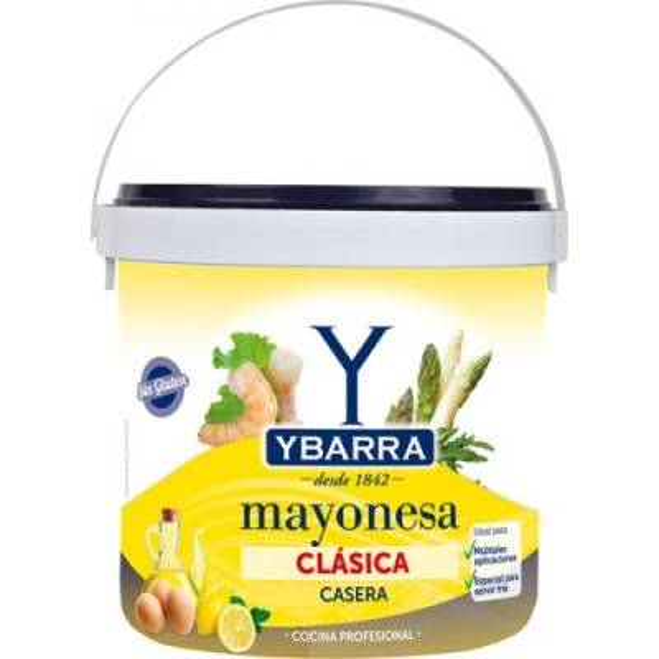 MAYONESA CLÁSICA CASERA 5L YBARRA