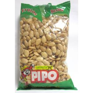 FRIED SALTED ALMOND 1KG PIPO