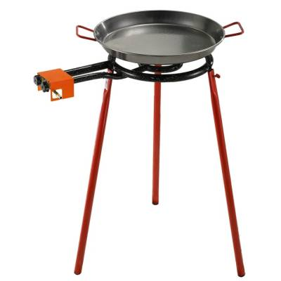 Paella burner with rolling stand - FREE PAELLA PAN