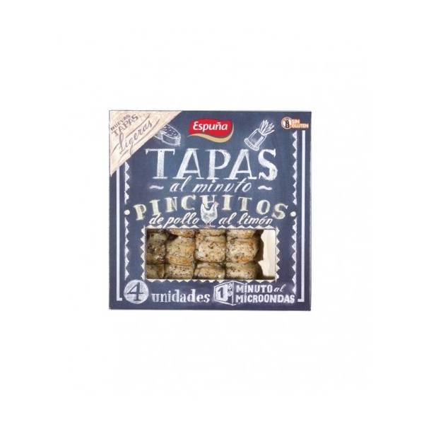 Pinchitos de pollo al limón ESPUÑA 80g.