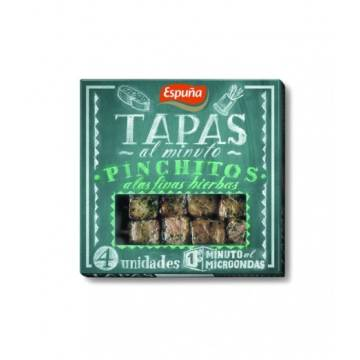 PORK SKEWERS MARINATED WITH FINE HERBS 80G ESPUÑA