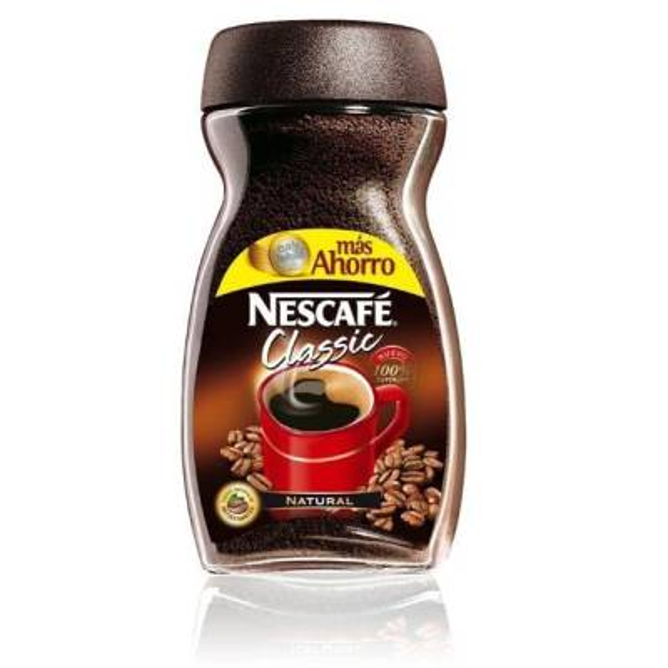 """NATURAL INSTANT COFFEE NESCAFÉ CLASSIC 200G """"NESTLÉ"""""""