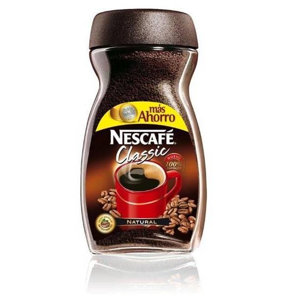 "CAFÉ SOLUBLE NATUREL NESCAFÉ CLASSIC 200G ""NESTLÉ"""