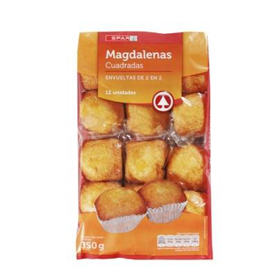 "MAGDALENAS, SQUARE MUFFIN 12 UNITS ""SPAR"""