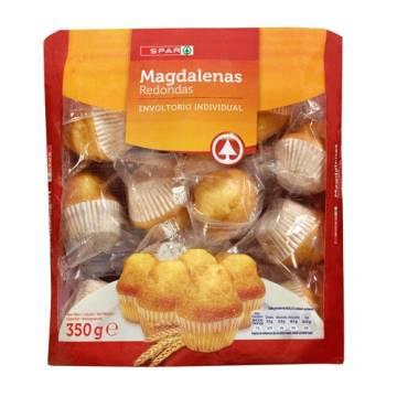 """MAGDALENAS, RUNDE SPANISCH CUPCAKE 12 EINHEITEN """"SPAR"""""""
