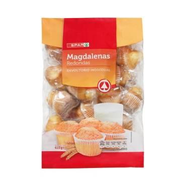 "MAGDALENAS REDONDAS 18 UNIDADES ""SPAR"""