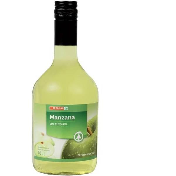 MANZANA SIN ALCOHOL SPAR BOT. 70CL.