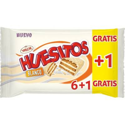 "HUESITOS WHITE 6 UNITS ""VALOR"""