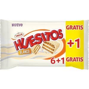 WEISSE HUESITOS 6 RIEGEL VALOR