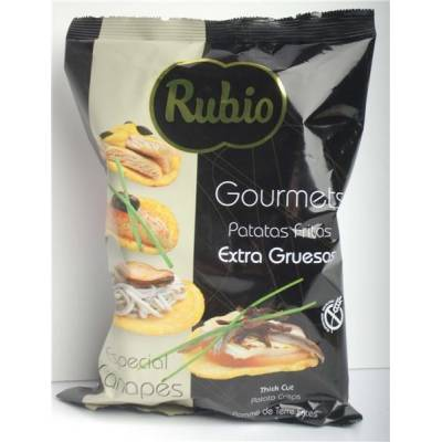 "EXTRA THICK CUT POTATO CHIPS GOURMET ""RUBIO"""