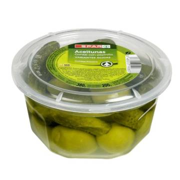 "OLIVES STUFFED WITH GHERKINS ""SPAR"""
