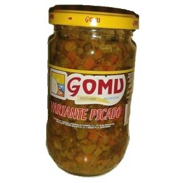 CHOPPED PICKLED VEGETABLES 300G GOMU
