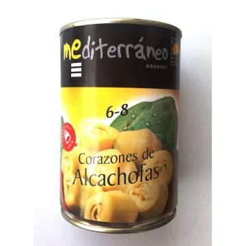 "ARTICHOKE HEARTS 6-8 ""MEDITERRÁNEO GOURMET"""