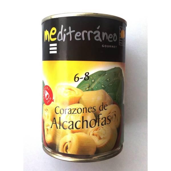 """CORAZONES DE ALCACHOFAS 6-8 """"MEDITERRÁNEO GOURMET"""""""