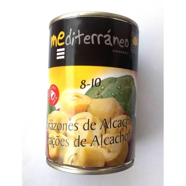 "ARTICHOKE HEARTS 8-10 ""MEDITERRÁNEO GOURMET"""