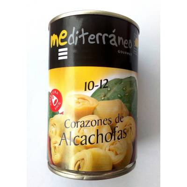 "ARTICHOKE HEARTS 10-12 ""MEDITERRÁNEO GOURMET"""