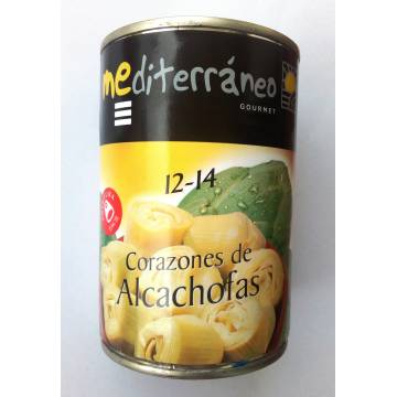 """CORAZONES DE ALCACHOFAS 12-14 """"MEDITERRÁNEO GOURMET"""""""
