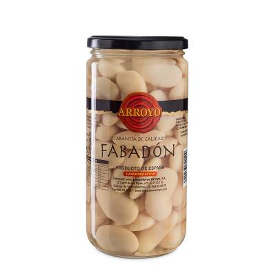BOILED LARGE WHITE BEANS 570G ARROYO